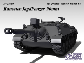 1/72 KanonenJagdPanzer 90mm in Frosted Ultra Detail
