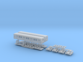 BR 875/275 Berliner S-Bahn, Viertelzug (Z, 1:220) in Frosted Ultra Detail
