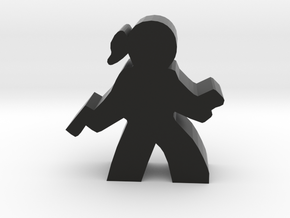 Agent Hacker Meeple in Black Strong & Flexible
