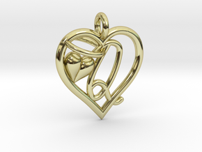 HEART Q in 18k Gold Plated