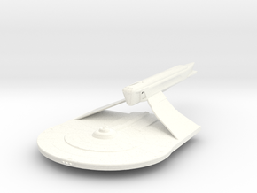 Larson Class VI Refit Destroyer in White Strong & Flexible Polished