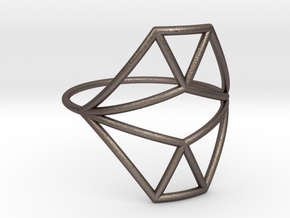 VECTOR EQUILIBRIUM Ring Nº18 in Stainless Steel
