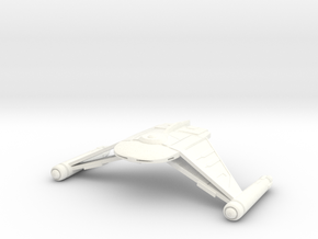 V9 NightFlyer Class Cruiser in White Strong & Flexible Polished