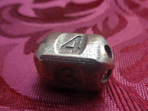 Four sided 'pepperpot' die in Stainless Steel