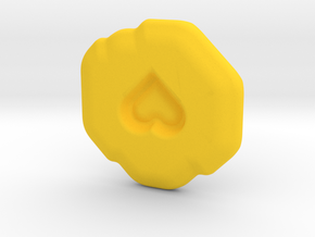 Compassion Runestone in Yellow Strong & Flexible Polished