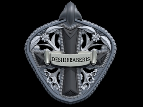 Remembrance Pendant in Stainless Steel