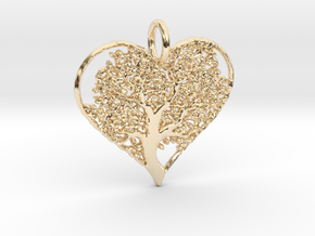 Let Your Love Grow pendant in 14K Gold
