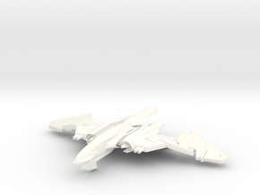 WingSerpent Class War Bird      WINGS IN CHANGE II in White Strong & Flexible Polished