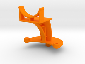 XuGong V2 - Mount for Controller & Mini Cam in Orange Strong & Flexible Polished
