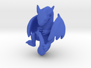 Infant Dragon in Blue Strong & Flexible Polished