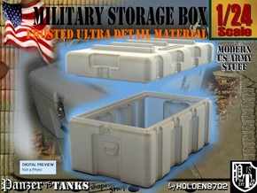 1-24 Military Storage Box For FUD in Frosted Ultra Detail