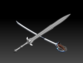 FATHERS SWORD in Stainless Steel