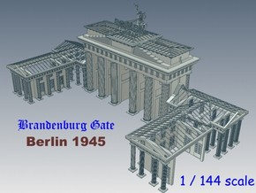 1-144 Brandenburg Gate Ruins in White Strong & Flexible