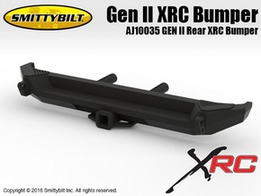 AJ10035 Gen II Rear XRC Bumper in Black Strong & Flexible