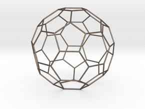 0474 Truncated Icosahedron E (17.0 �м) in Stainless Steel
