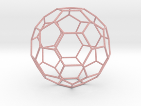 0473 Truncated Icosahedron E (16.0 �м) #006 in Full Color Sandstone
