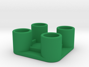 Links in Green Strong & Flexible Polished