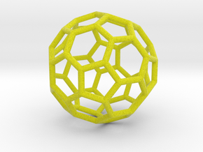 0479 Truncated Icosahedron E (3.8 �м) #001 in Full Color Sandstone