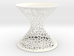 Hyperboloid LP Cells Large in White Strong & Flexible Polished