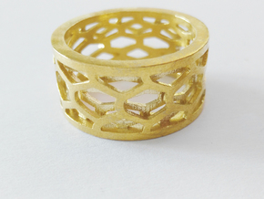 Py Ring - Male - M in Raw Bronze