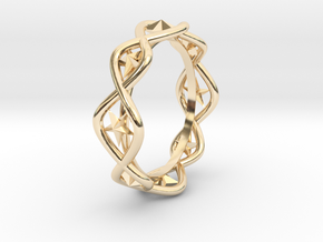 Ring Of Hoshi 14.1 mm Size 3 in 14K Gold