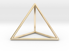 Prism Pendant in 14k Gold Plated
