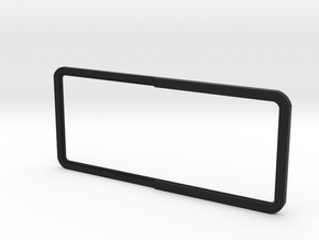 Open Rear Side Window Right D90 D110 Gelande 1:10 in Black Strong & Flexible