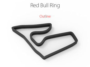 Red Bull Ring | Outline in Full Color Sandstone