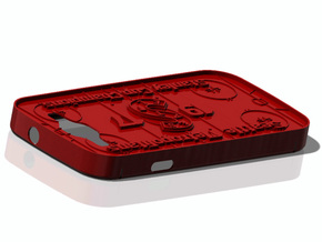 Galaxy S3 Metropolitans Hockey in Red Strong & Flexible Polished