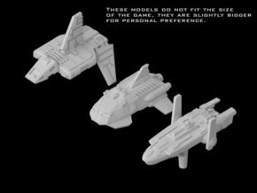(Armada) Transports Set II in Frosted Ultra Detail
