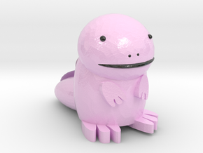 Shiny Quagsire in Coated Full Color Sandstone