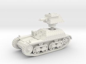 Vickers Light Tank Mk.IIb (15mm scale) in White Strong & Flexible