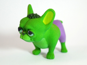 Frenchie Hulk in Full Color Sandstone