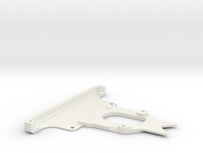 Kyosho Miniz F1 015 front bumper in White Strong & Flexible