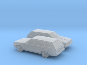 1/148 2X 1978 Mitsubish Galant Station Wagon in Frosted Ultra Detail