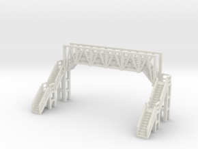 Brücke 1 - 1:220 (Z scale) in White Strong & Flexible