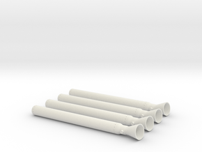Ullage Motor 4-Pack in White Strong & Flexible