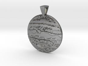 Jupiter Pendant in Polished Silver