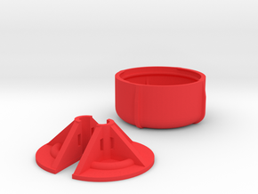 Aomway Antenna Protector Cap V3 in Red Strong & Flexible Polished
