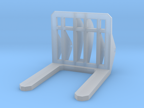 Front Loader Forks 1-87 HO Scale in Frosted Ultra Detail