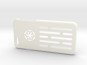 Iphone 6 Case Death Star Wall in White Strong & Flexible Polished