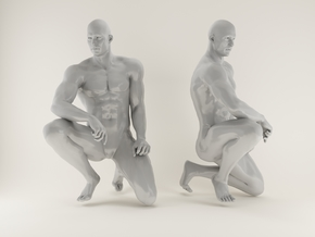 Strong Man scale 1/24  2016006 in Frosted Ultra Detail