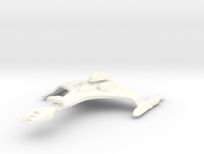 Vorcha Class Battlecruiser in White Strong & Flexible Polished