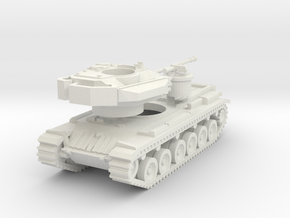 MG144-UK02 Centurion Mk 5 MBT (no skirts) in White Strong & Flexible