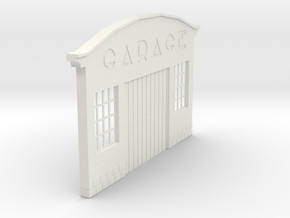 Z-1-32-garage-1 in White Strong & Flexible