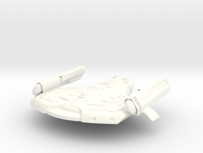 "Saber Class VI Refit 1.7"" in White Strong & Flexible Polished"