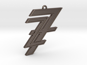 7&z pendant in Stainless Steel