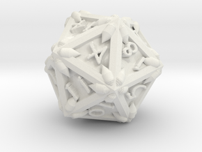 D 20 Dragonclaws in White Strong & Flexible
