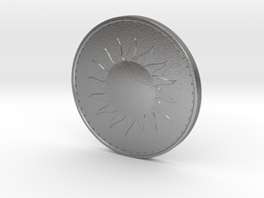 Coin of the Sun in Raw Silver