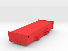 Billard T75D - Oe - Chassis in Red Strong & Flexible Polished
